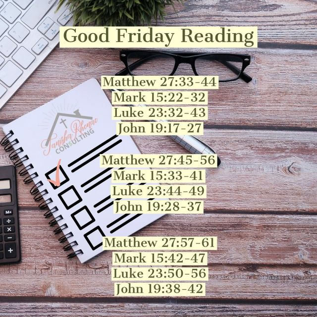 I decided not to post anything business-related today so we can take a moment and honor and celebrate Good Friday. For my Bible reading today, I wanted to read about Jesus's Crucifixion in chronological order. I am sharing the verses with you. Let me know what sticks out the most to you!  . . . . . #FollowChrist #BibleNotes #ShareTheGoodNews #StudyTheBible #OpenYourBible #QuietTimeWithGod #BiblicalLiving #WeAreUnveiled #ChristianGirls #ChristianWomenLeaders #ByGraceThroughFaith #SeekingGod #GodIsOnTheMove #SpreadTheGospel #SpiritualGrowthJourney #LiveYourFaith #NourishYourMind #ChristianInfluencer #MelaninBlogger #ChristianBlogs #QuietTimeWithGod #DailyGrace #ChristianCreatives #SpiritualDisciplines #LiveYourFaith #BlackChristianInfluencers #BlackInfluencer #GodsWordIsTruth #TanishaRhenae #TanishaRhenaeConsulting